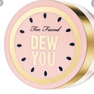 Too Faced -Dew you glow translucent setting powder